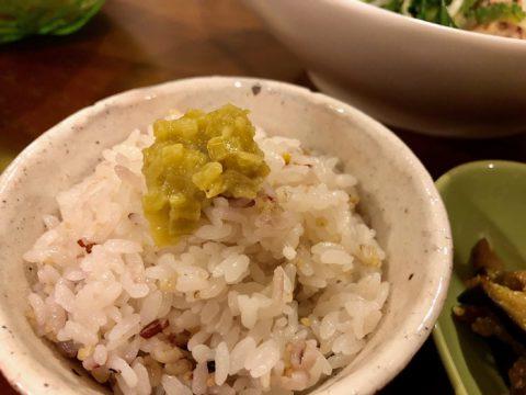 塩煮のっけ飯