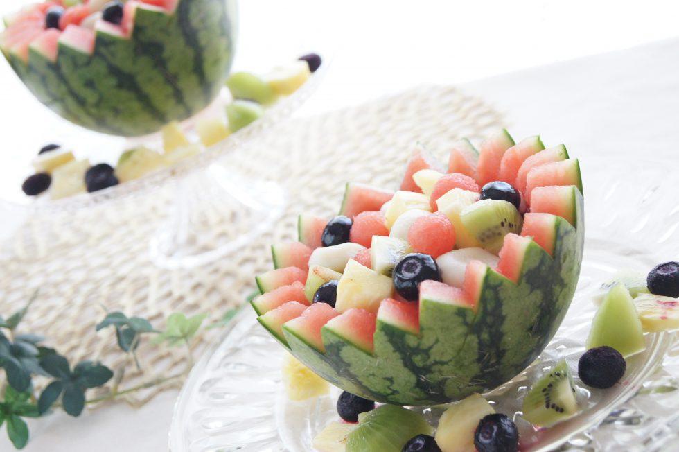【まつの幸せフルーツボックス】果物たっぷりパーティーレシピ