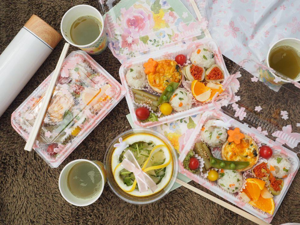 【まつの幸せ野菜ボックス】春色満載!お花見弁当を作ろう