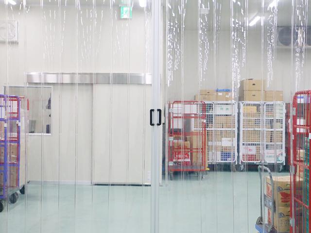 精肉・チルド品保管庫(0℃)