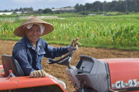 田芋農家 徳次郎さん