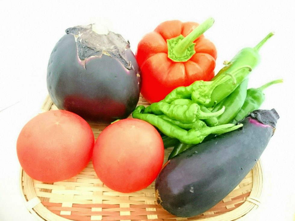 暑い夏こそ、三里四方の野菜を食べつくそう!