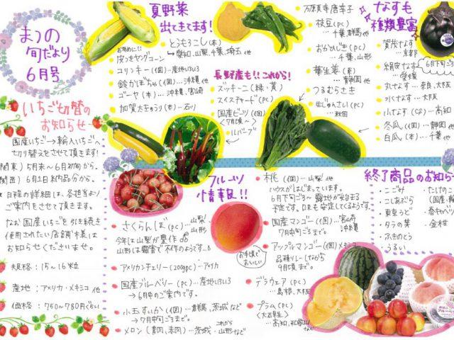 【6月】【飲食店様向け】今月のおすすめアイテム