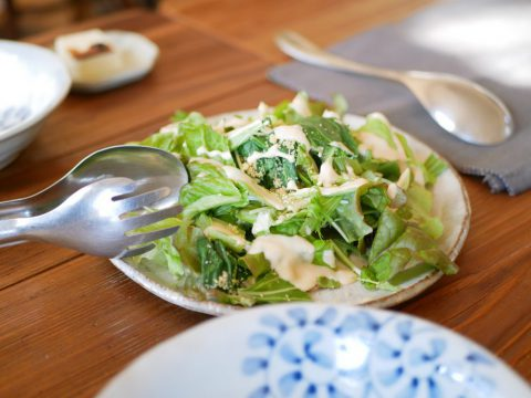 旬菜のサラダ