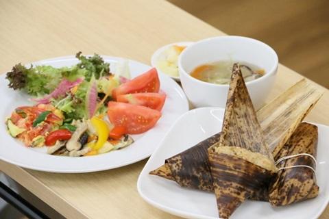 【端午の節句】中華ちまき風炊き込みご飯ランチ