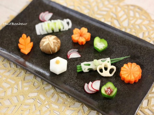 【イベント実施】観て、味わって、楽しむ料理! ~野菜の飾り切り講座~