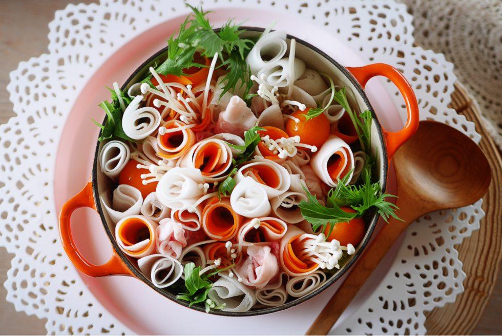 今日も笑顔のうちご飯「野菜いっぱいポカポカお料理」