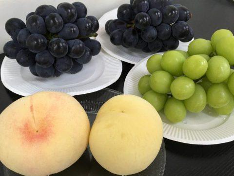 おかやま ブドウ 白桃