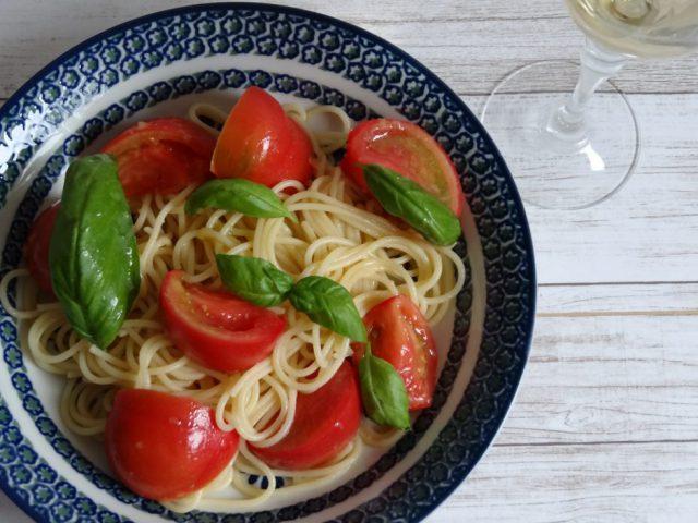 塩トマトパスタ