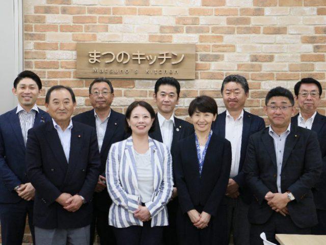 「秋田市公設地方卸売市場を考える議員の会」ご視察