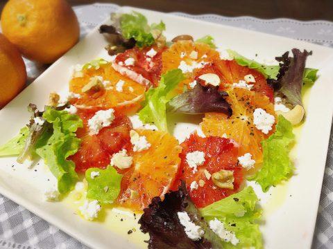 ブラッドオレンジサラダ