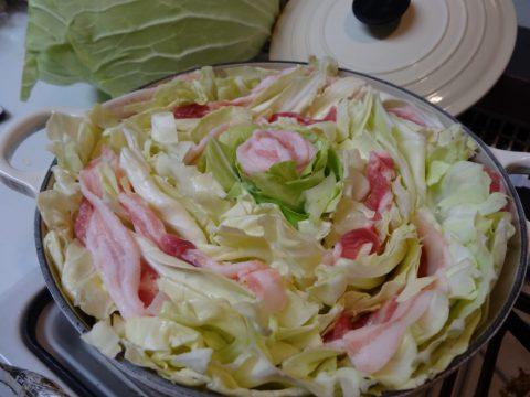 札幌大球 キャベツ ミルフィーユ鍋