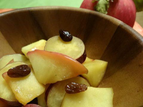 りんご さつまいも カラメル煮