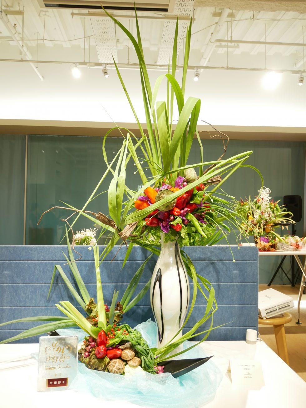 野菜ブーケ特別発表会~新しい野菜果物の文化発信~