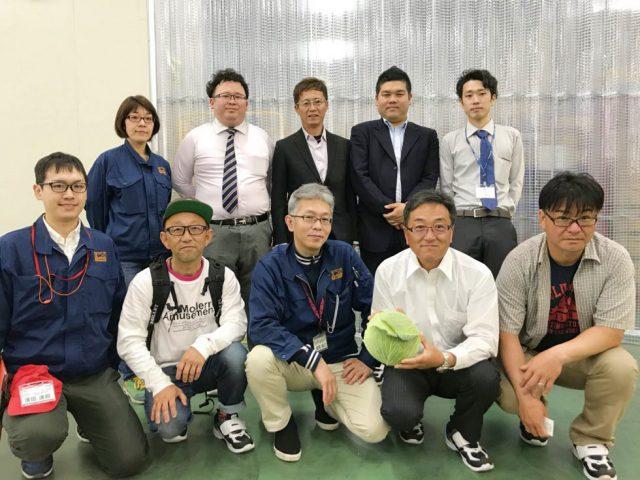 JA豊橋「てつコン倶楽部」まつの新センターご視察