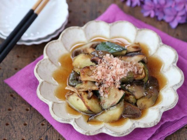 【料理レシピ】「お野菜の焼きびたし」