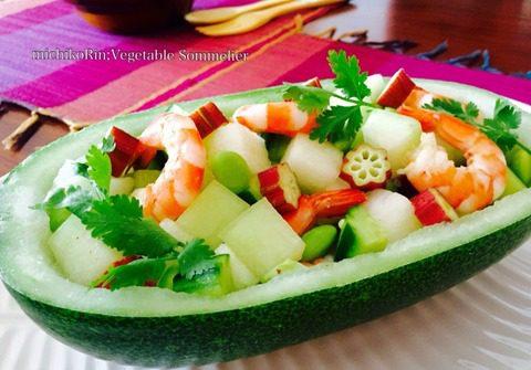 冬瓜のエスニック風サラダ