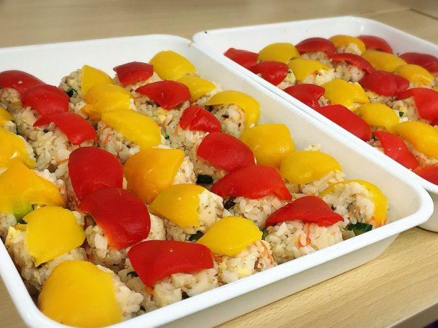 ひな祭りの手毬寿司