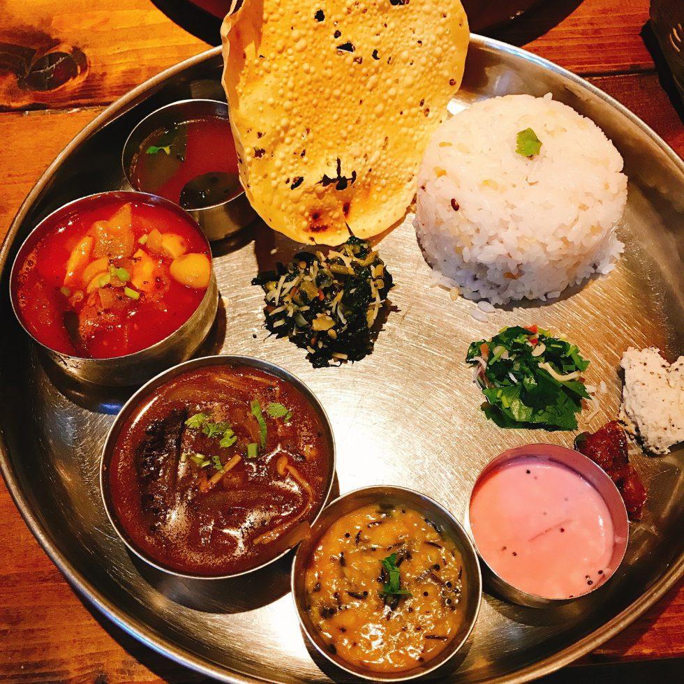 からだに優しい野菜でご飯を!南インド料理店「葉菜」